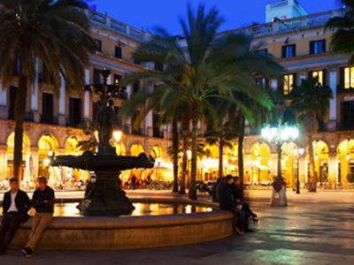 Barcelone Placa Reial