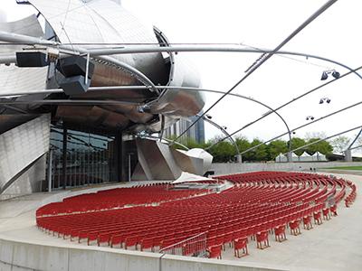 Pavillon Jay Pritzker de Chicago